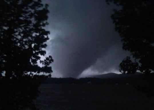 Tornado in Shoal Creek Valley, Alabama on April 27, 2011. Investigators found that the use of media helped protect people from harm.