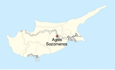 Abandoned village of Agios Sozomenos on the island of Cyprus.
