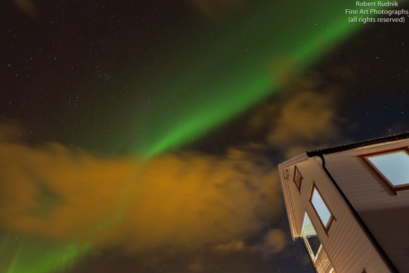 New Year's Eve aurora by Robert Rudnik. See more of his photos at Nature Sky Images on Facebook.