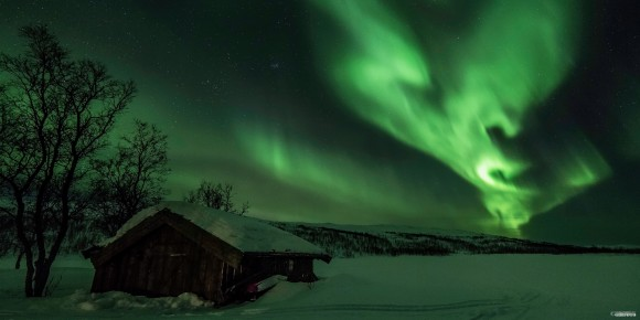 Aurora on January 1, 2014 by Geir-Inge Bushmann. See more photos from Geir-Inge Bushmann