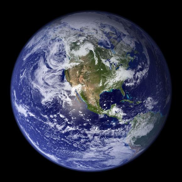 Earth. Image Credit: NASA.