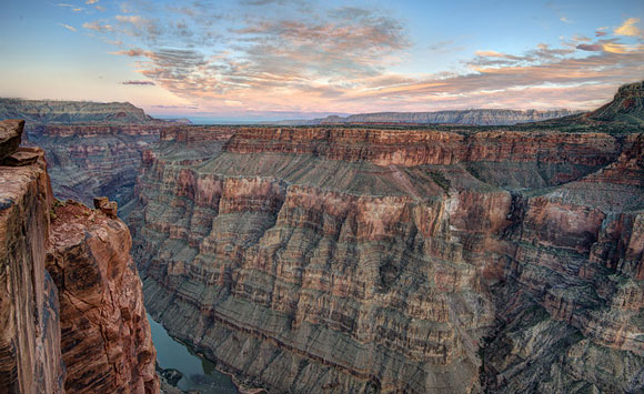 Toroweap Overlook in the Grand Canyon. Image Credit: John Fowler.