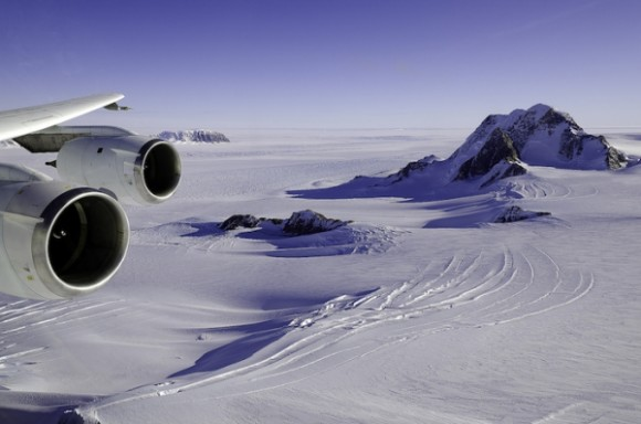 Researchers used radar and satellite data to map the region beneath the West Antarctic ice sheets. Photo via University Herald