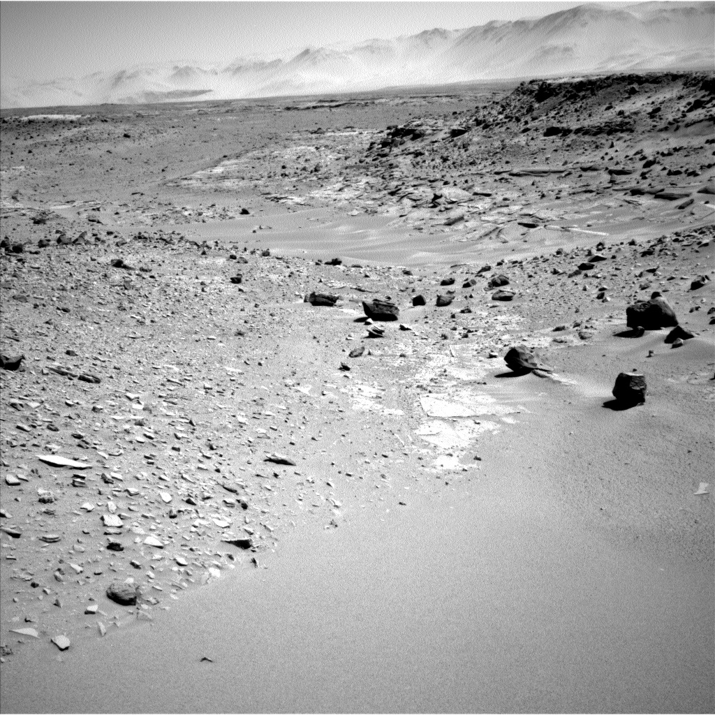 Where the Curiosity rover is now on Mars
