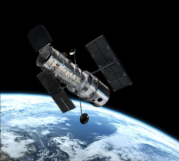 Hubble Space Telescope.  Via spacetelescope.org