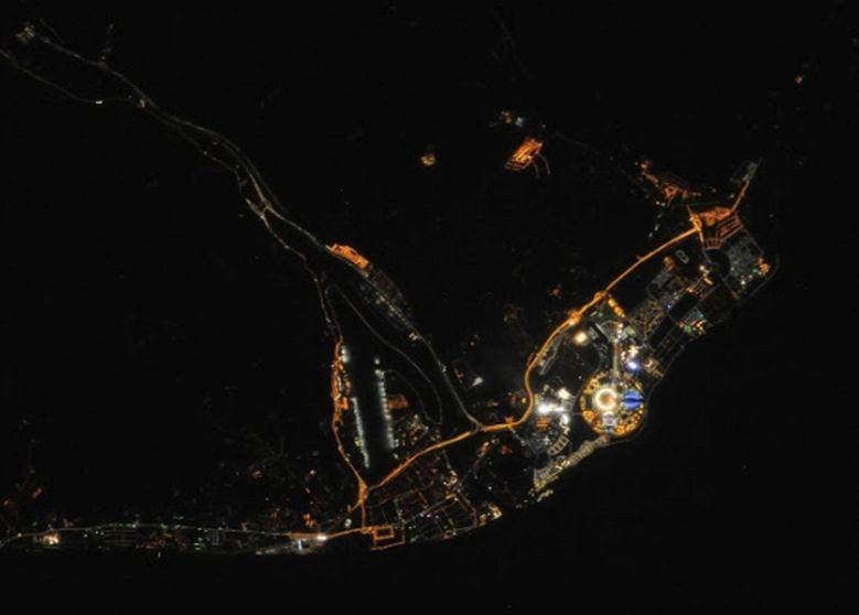 Sochi Olympic Park, via ISS