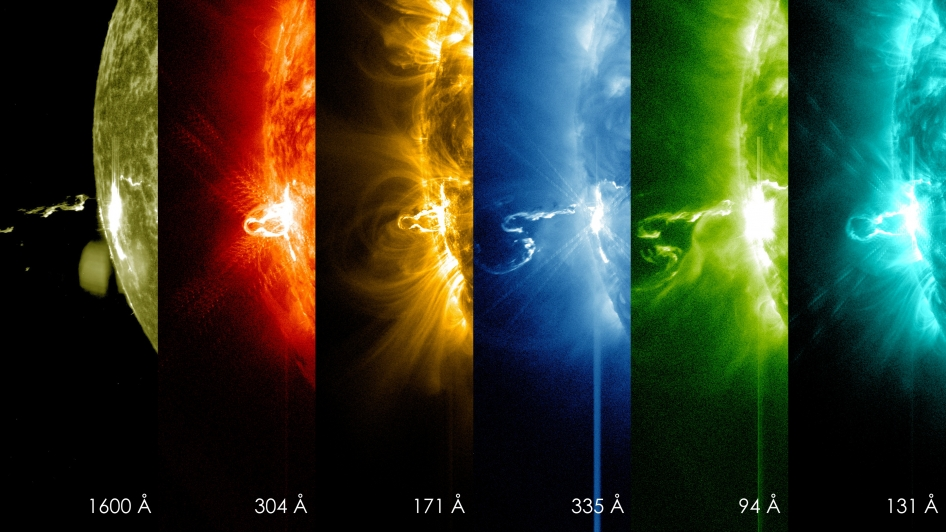 X-flare! Most intense flare of 2014 so far