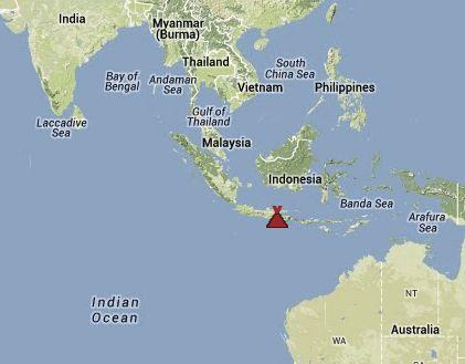 Map via volcanodiscovery.com