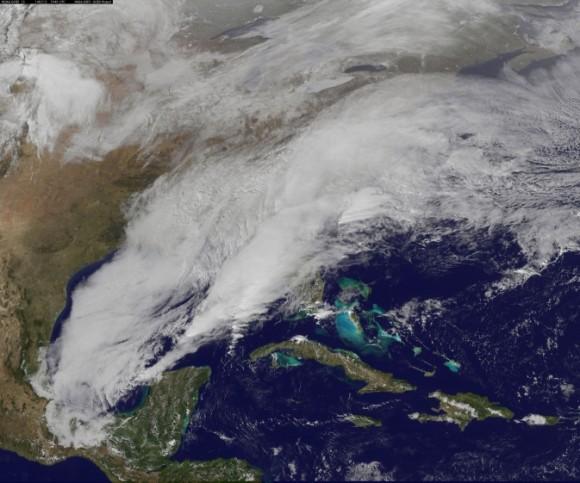 Image credit: NASA/NOAA GOES Project