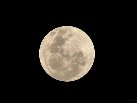 Peter Jones: Tonight's moon, gleaming in lone grandeur, rises over Philippines. — in General Santos City, Philippines.