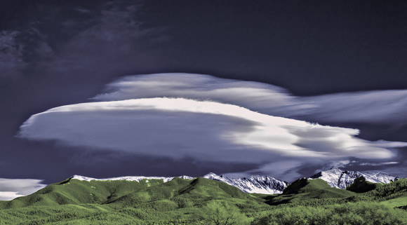 Lenticular clouds by Richard T. Hasbrouck.  Visit Richard's website.