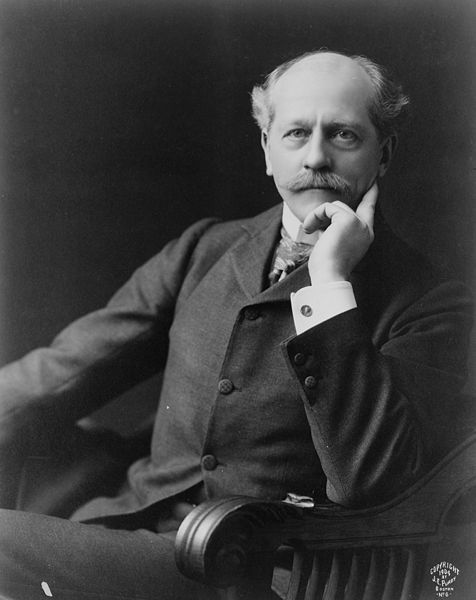 Percival Lowell (1855-1916) was a visionary man.  He hypothesized about canals on Mars and about a large, unseen Planet X.  Neither vision has turned out to be reality.  Image via Wikimedia Commons