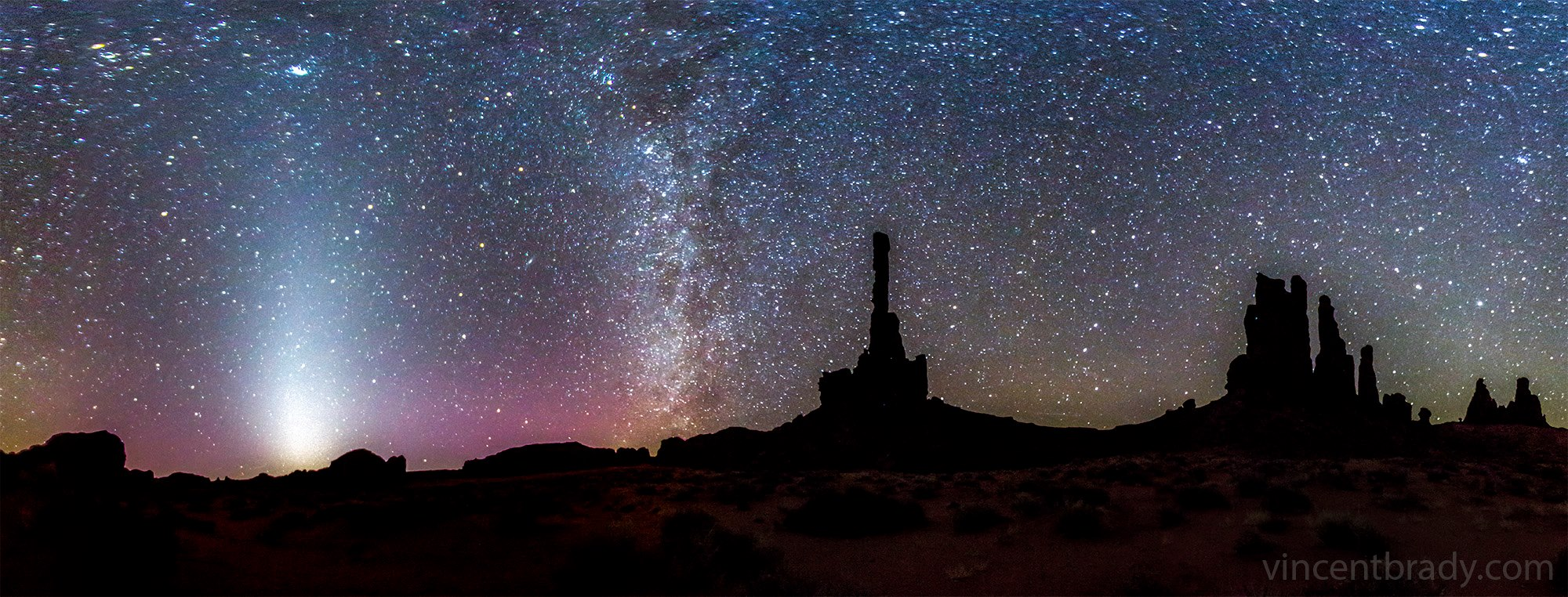 Zodiacal Light In Monument Valley Arizona Today S Image