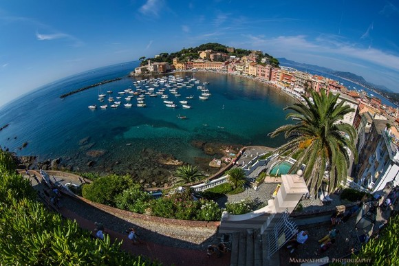 Earth Day from East Bay of Sestri Levante, Ligurian Sea, Genoa, Italy, from Maranatha.it Photography.  Thanks, guys!  See larger photo.