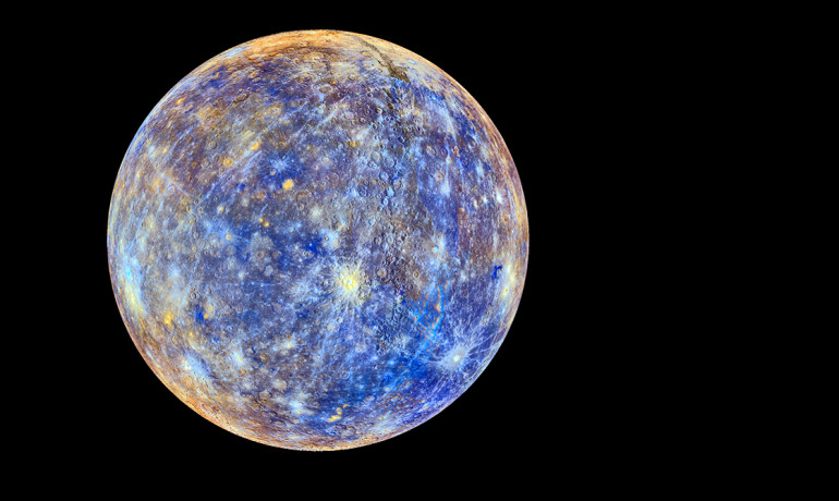 Mercury has a long history of exploding volcanoes