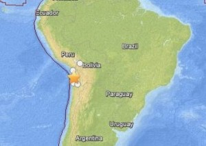 7.6-magnitude earthquake April 3, 2014
