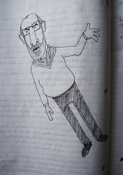 No word yet on if drawing caricatures of your professor helps. Image: H.L.I.T.