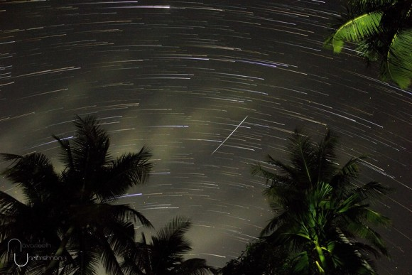 Navaneeth Unnikrishnan said the Camelopardalids meteor shower wasn't very visible from as southerly a latitude as India.  He said,