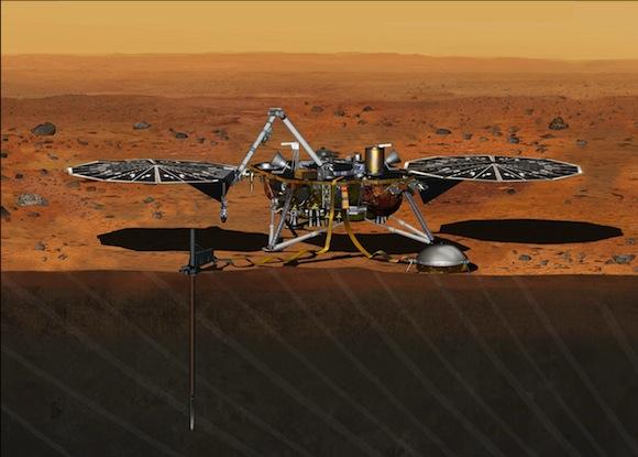 Mars-lander