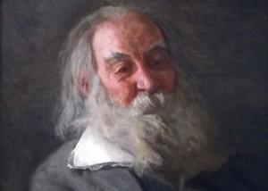 Walt Whitman by Thomas Eakins, 1887-88
