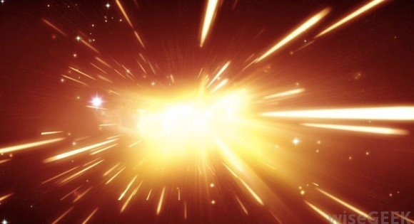 Modern scientists believe our universe began in a Big Bang - the birth of all matter, space and time - some 15 billion years ago.  Read more about Big Bang theory at WiseGeek.