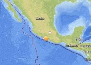 Mexico earthquake on May 8 via