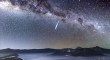 Meteor seen during 2013 Eta Aquarid shower by Justin Ng