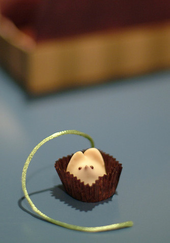 The only kind of mouse you should see in a restaurant. Image: Julie Almand.
