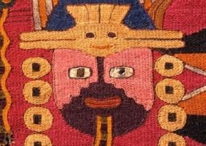 Paracas textile.  Read more.
