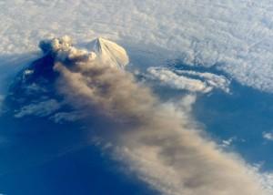 Pavlof Volcano May 18, 2013 via ISS