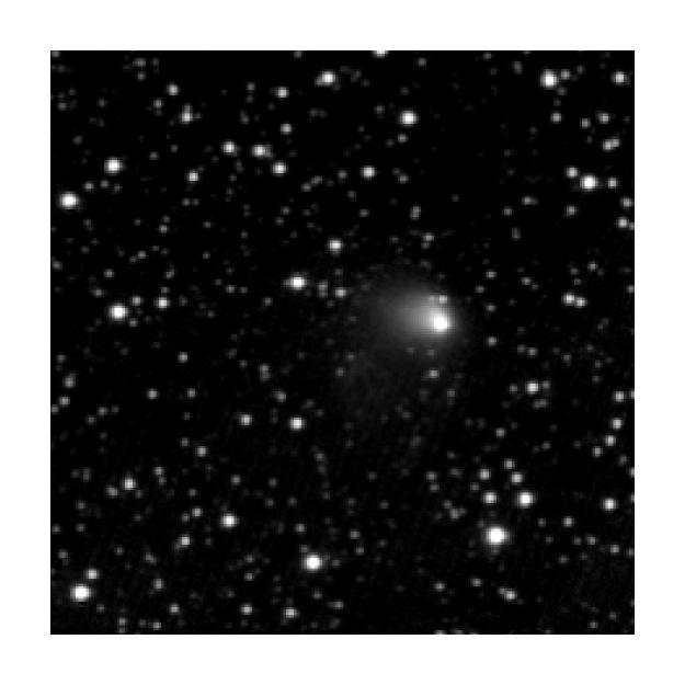 Close-up of comet 67P/C-G on 30 April 2014.  Credit: ESA/ Rosetta/ MPS for OSIRIS Team MPS/ UPD / LAM/ IAA/ SSO/ INTA/ UPM/ DASP/ IDA