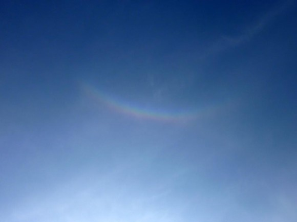 Rene Pennings captured this circumzenithal arc on May 21, 2012.