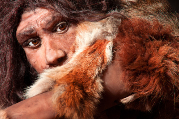 Depiction of early human. Credit: © procy_ab / Fotolia