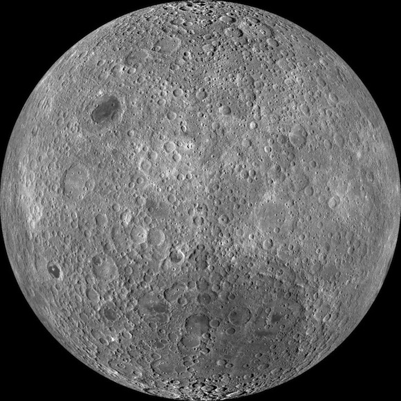 Far side of the moon mystery solved