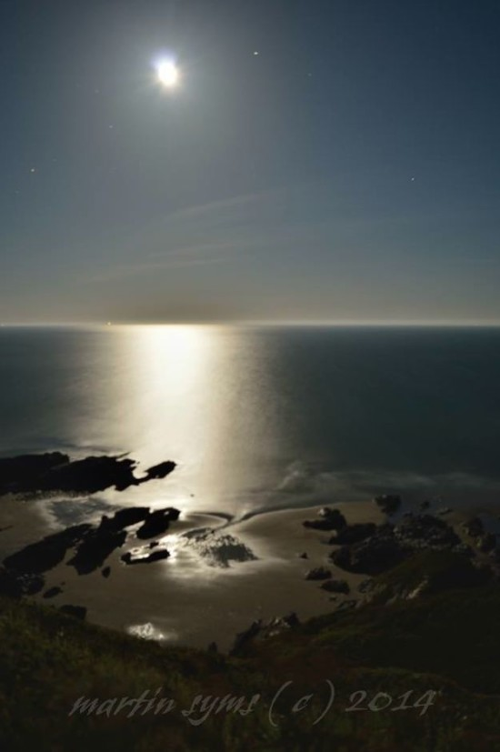 From Tregantle Beach in Cornwall, U.K., by Martin Sims.