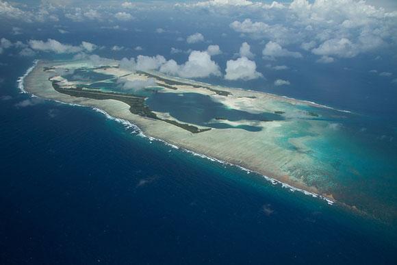 Palmyra Atoll. Image Credit: Erik Oberg, Island Conservation.