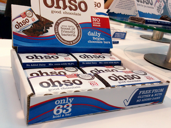Yes, it's a probiotic candy bar. Image: Health Gauge.