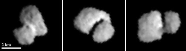 View larger.   Comet 67P/Churyumov–Gerasimenko .  Imaged: Sunday 20 July 2014.