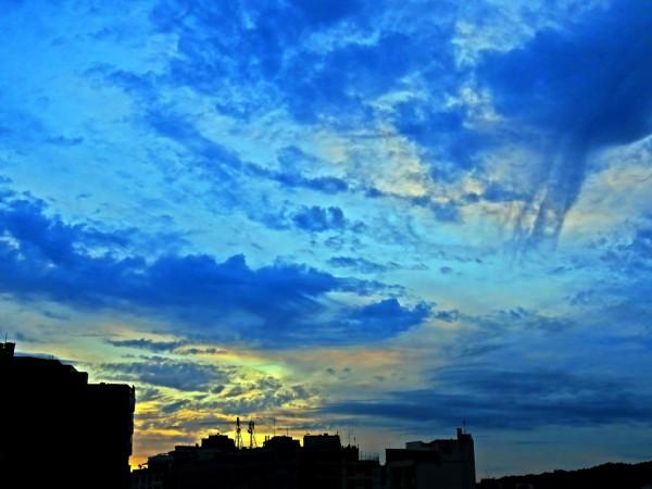 Virga over Rio de Janeiro, Brazil on May 15, 2015 submitted to EarthSky by Helio de Carvalho Vital.