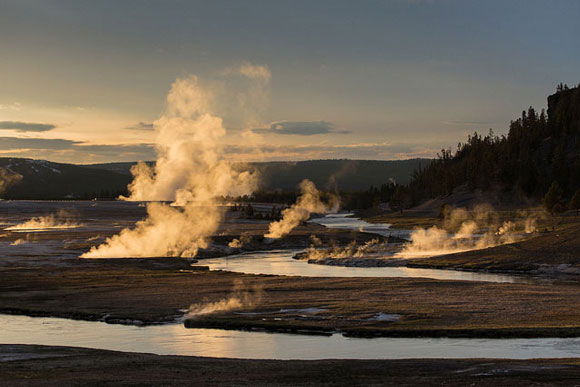 Midway Geyser Basin, Yellowstone National Park. Image Credit: Neal Herbert, National Park Service.