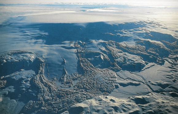 Baroarbunga volcano is located beneath the ice of Iceland's largest glacier.