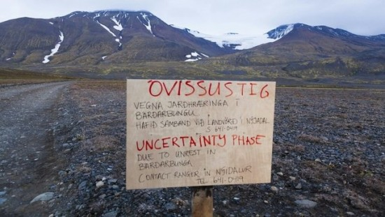 Iceland has been monitoring the Baroarbunga volcano closely for about two weeks.