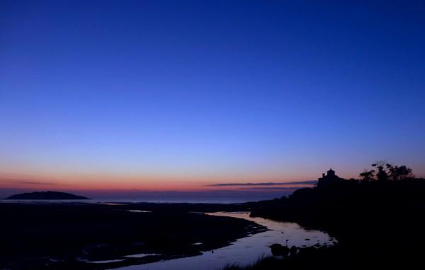 Blue hour by Marianna Bucina Roca in Gloucester, Massachusetts.