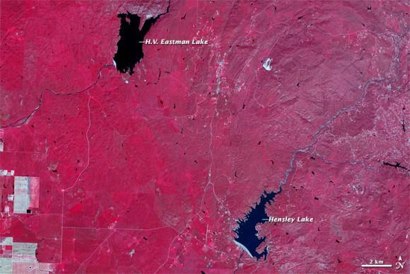Image from April 5, 2011.  Credit: NASA