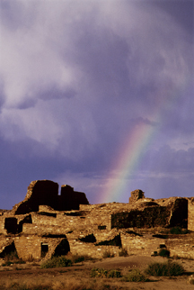 Chaco Canyon rainbow, via rontayyab.com