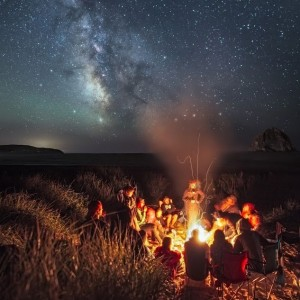 milky-way-campfire-Mt-Hood-Cape-Kiwanda-Oregon-sq