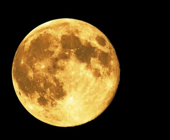 August 10 supermoon by Kimberly O'Donoghue.
