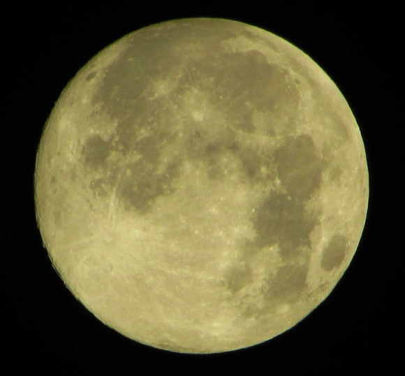Supermoon over Billings, Montana by Clayton Andrews.
