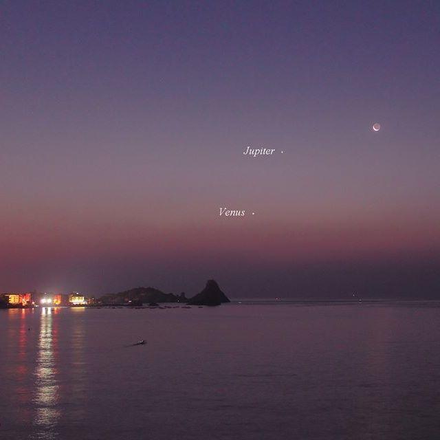 venus-jupiter-moon-8-23-2014-Giuseppe-Pappa-Sicily-Italy-sq