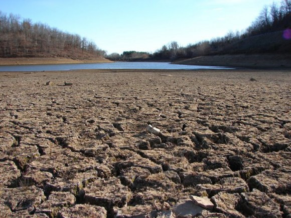 The drought crippling California is by some measures the worst in the state's history. Photo credit: NOAA